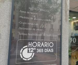 Encuéntranos en farmacias abiertas en Barrio de Salamanca