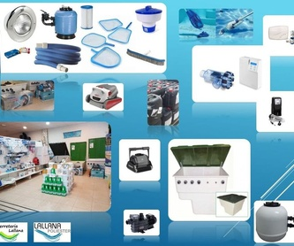 Casetas y Depuradoras para piscinas mod. Urano Semienterrada: Productos y servicios de Lallana Pol