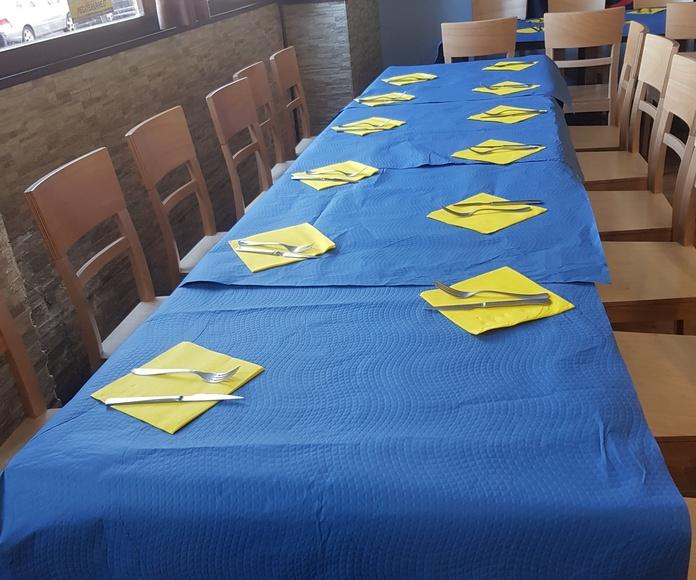 Cumpleaños: Carta y servicios de El Pisco
