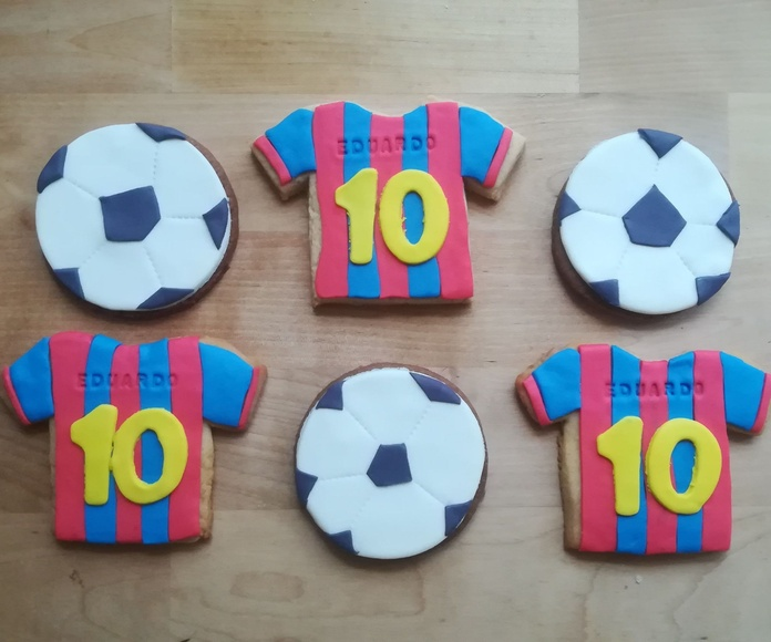 galletas decoradas futbol