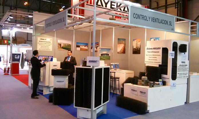 Control y Ventilación, S.L. en IFEMA - CLIMATIZACION 2015