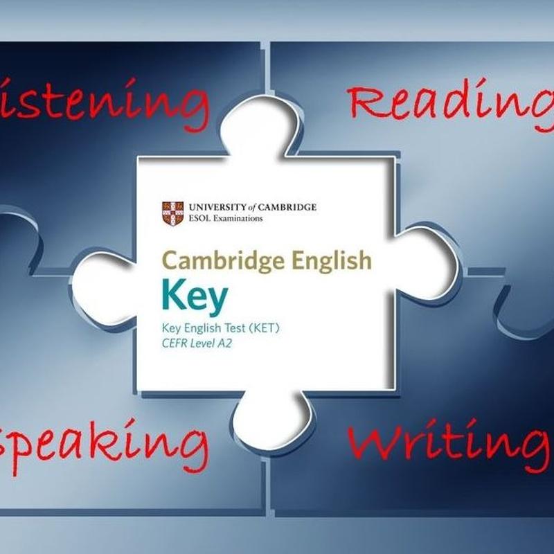 KET image courtesy of University of Cambridge ESOL Examinations