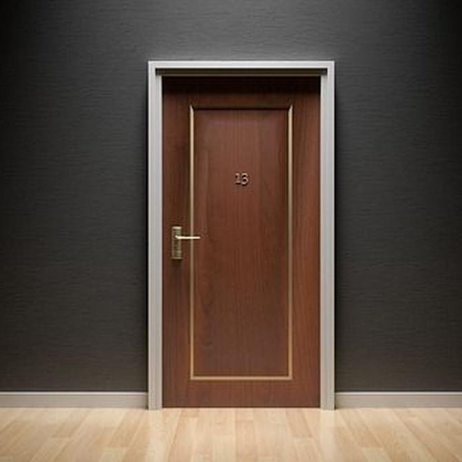 Mantenimiento de puertas de madera