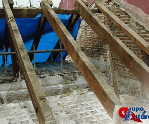 Demolición de tejado