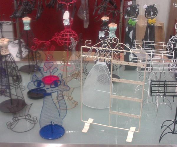 accesorios para colgar pendientes, pulseras, anillos