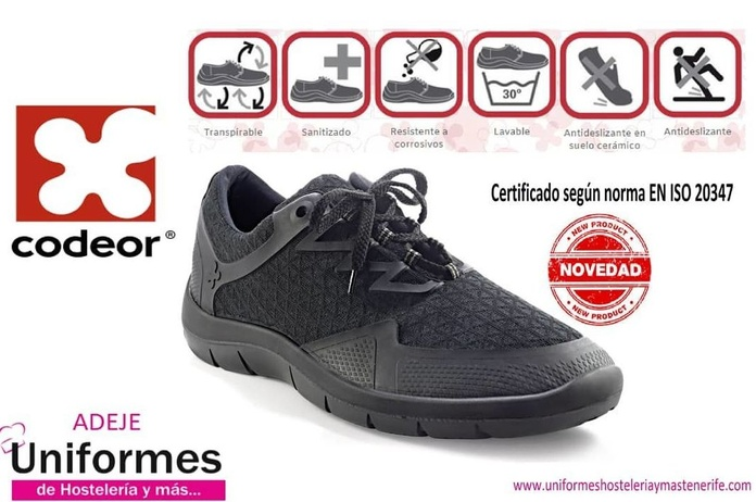 Deportiva Codeor Impermeable