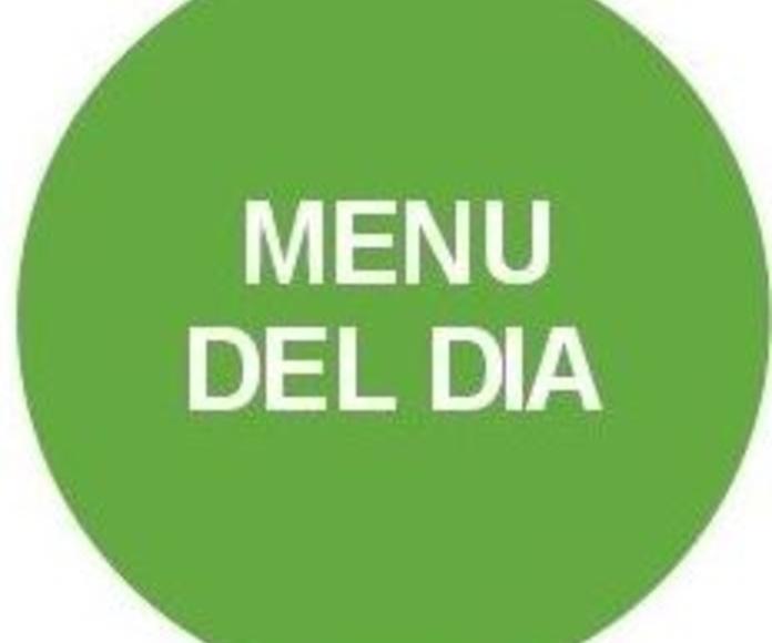 Menú Valdemoro