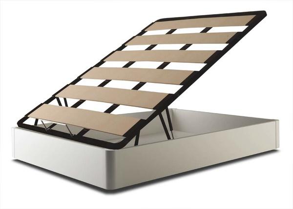 6246D canape de madera blanco: catalogo de Muebles San Francisco