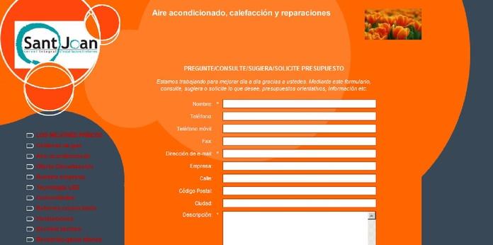 Pagina formulario