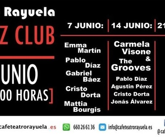 Noche con Jorge Pardo: Programación de Café Teatro Rayuela