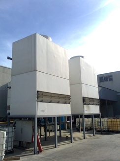 Torres de refrigeración en hospitales