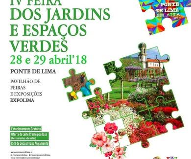IV Feira dos Jardins e Espaços Verdes