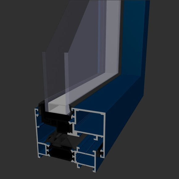 Ventana Aluminios Barcelona Alfil HO70 RPT Hoja oculta: Productos de Catal Pur
