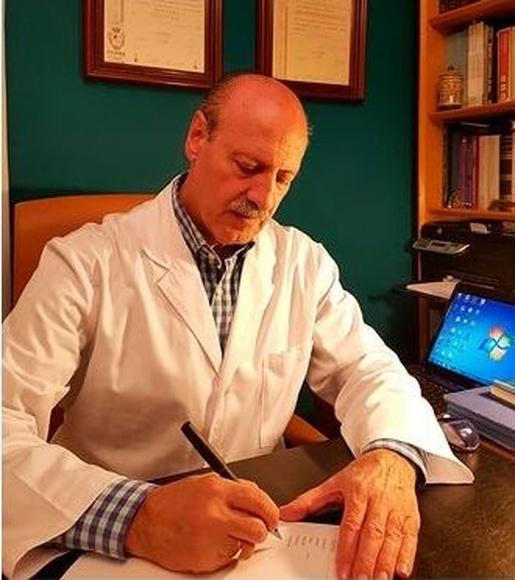 Ernesto Diezhandino, especialista en acupuntura