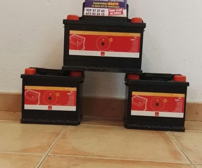 Venta de baterias
