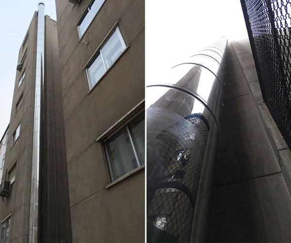 Colocación de bajantes y chimeneas en Zaragoza