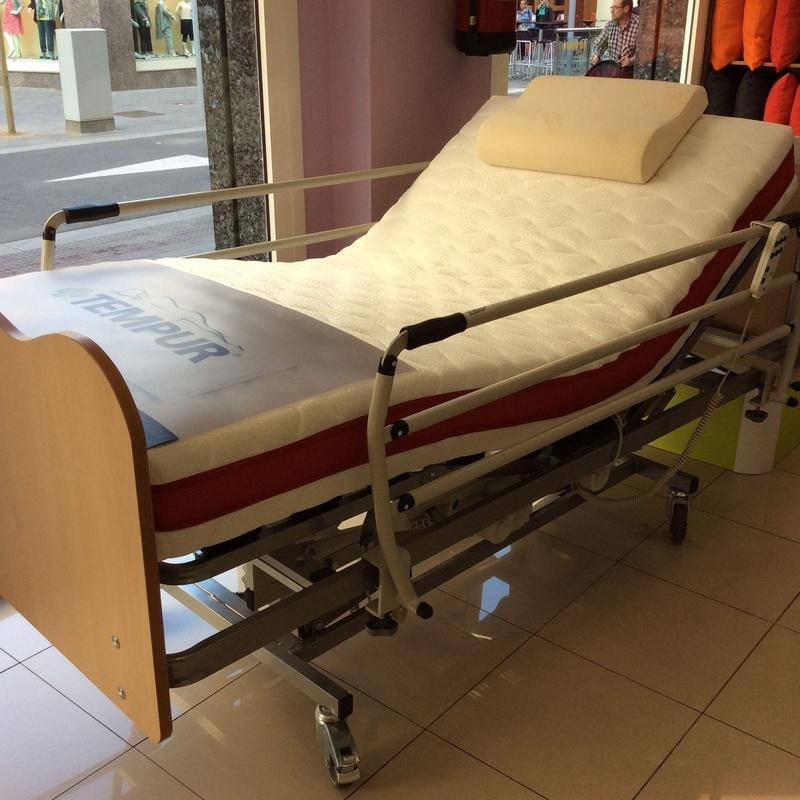 Conjunto cama geriatrica: Servicios de Matalasseria Colchonería Doñate