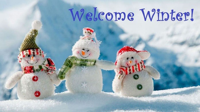Welcome Winter!!