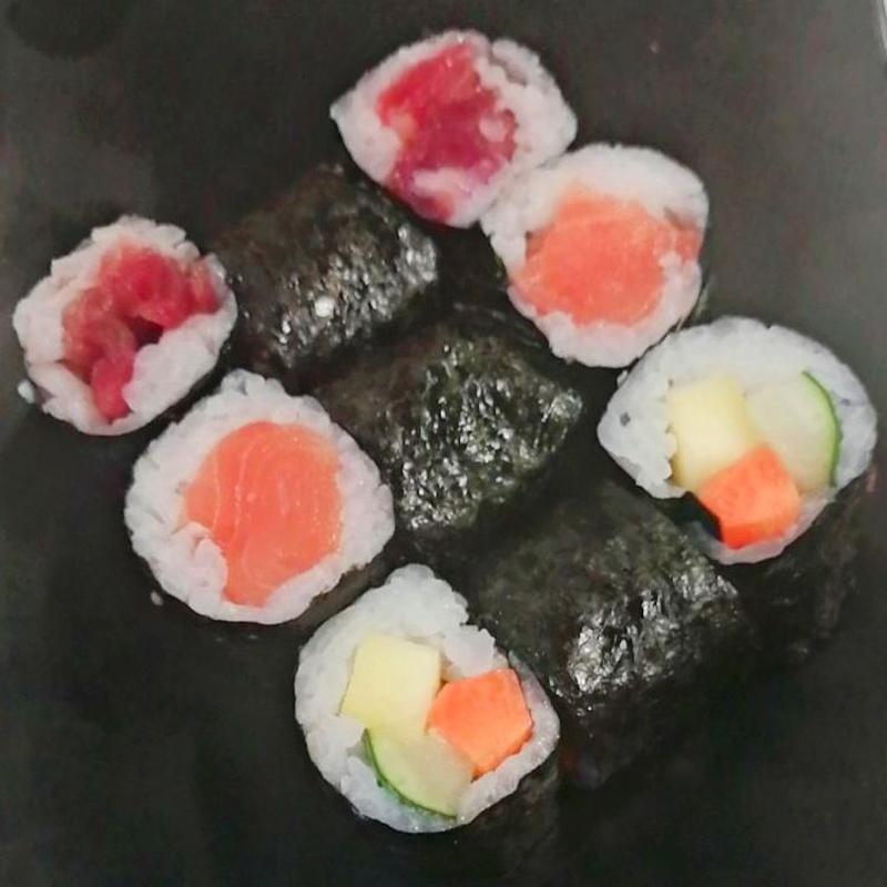 106.MAKI VARIADO 9 Piezas: Carta y menús de Yoshino