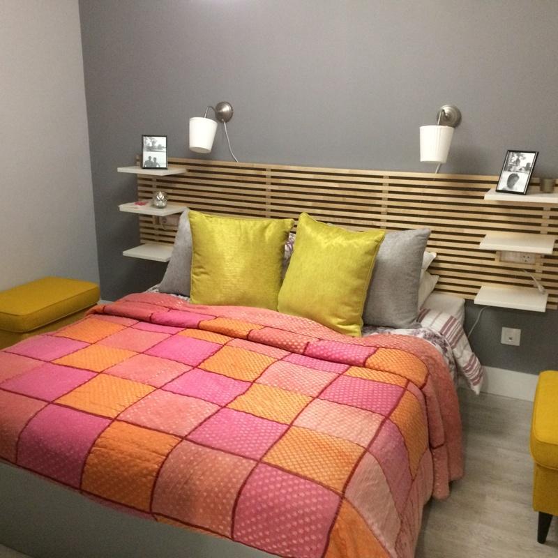 Dormitorio reformado en vivienda de Alboraya Valencia.
