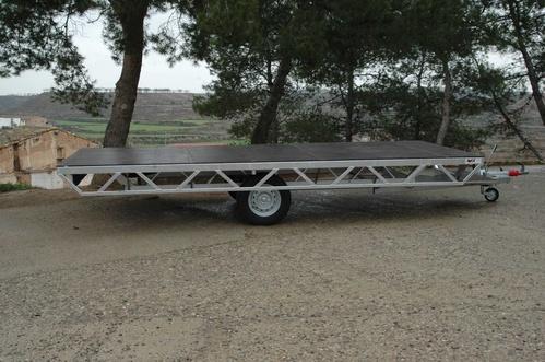 Plataforma para carrozas reyes, carnaval, etc.