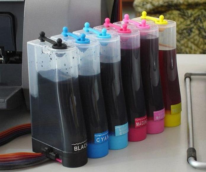Venta de tintas y toners: Servicios de Tintas y Toners Cadagua