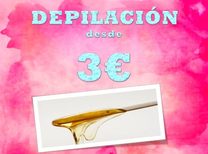 DEPILACIÓN DESDE 3€
