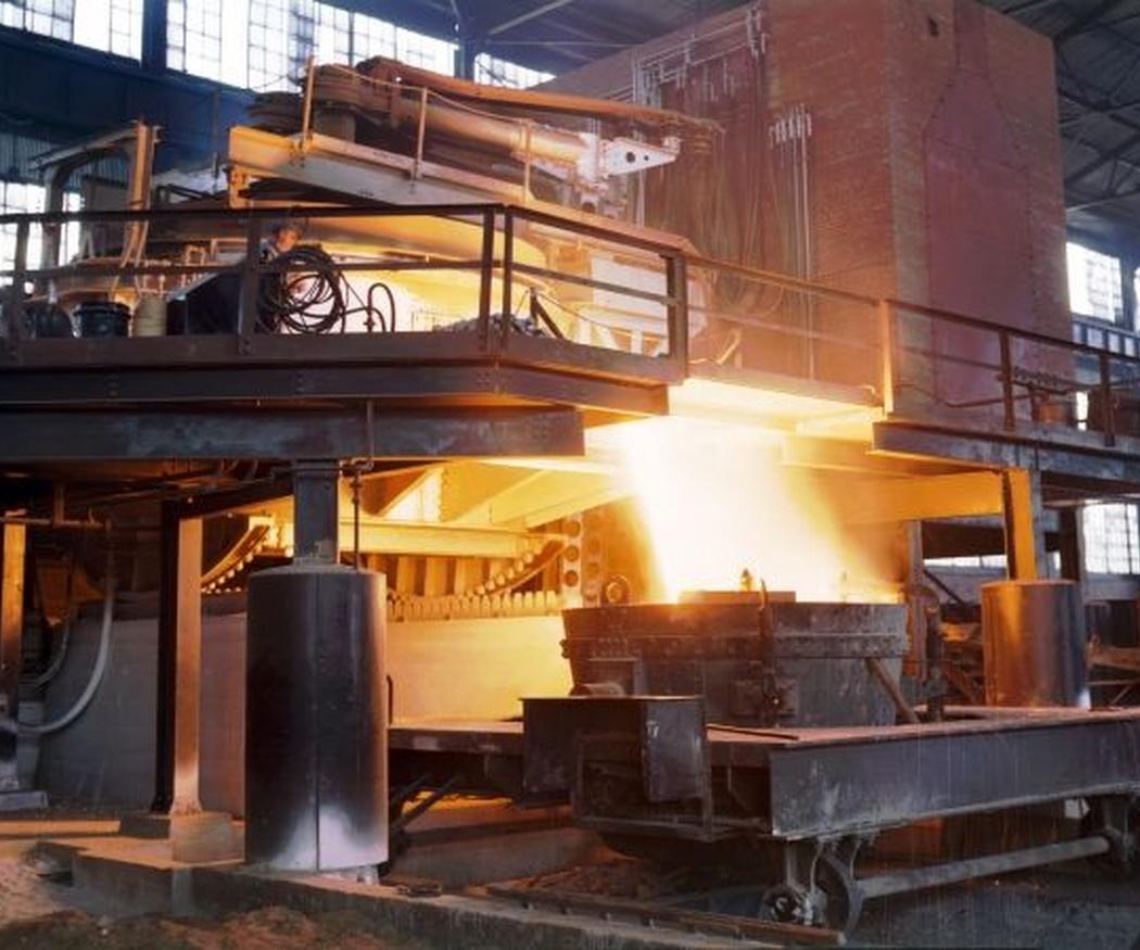 El acero en la siderurgia