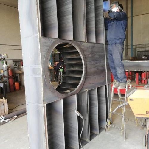 Fabricación de cajones de filtros en Valladolid