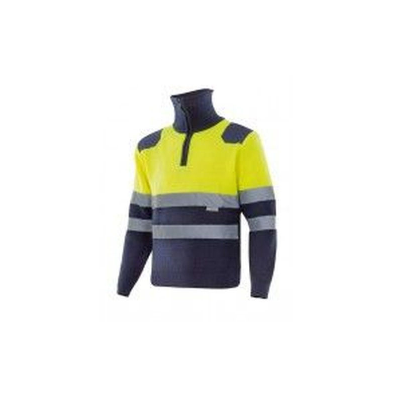 Serie 301001 / Jersey bicolor con cremallera alta visibilidad: Nuestros productos  de ProlaborMadrid