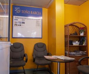 Sala de espera Talleres Toño Barcia