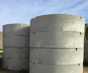 Pozos prefabricados de hormigón en Extremadura