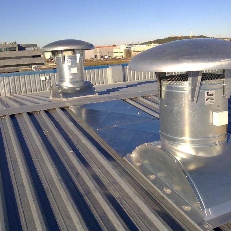 Ventilación Naves: Servicios que ofrecemos de Climeeg