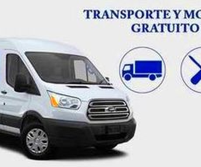 Transporte y Montaje Gratuito