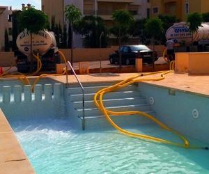 Llenado de piscinas