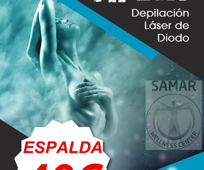 DEPILACION DE ESPALDA CON LASER DE DIODO EN VALLADOLID SAPPHIRE