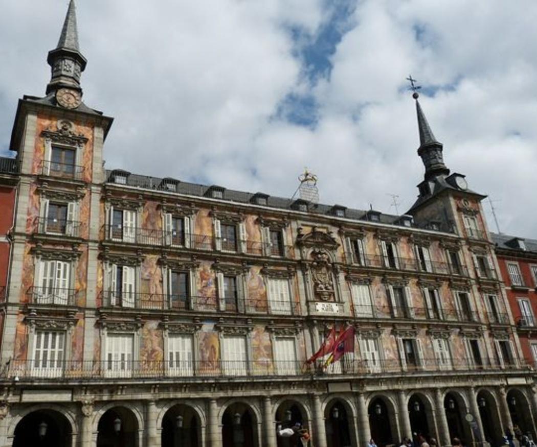 Las fachadas históricas protegidas de Madrid