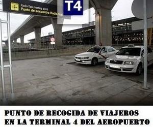 Prestamos servicio de Recogida de Viajeros en el Aeropuerto de Madrid.