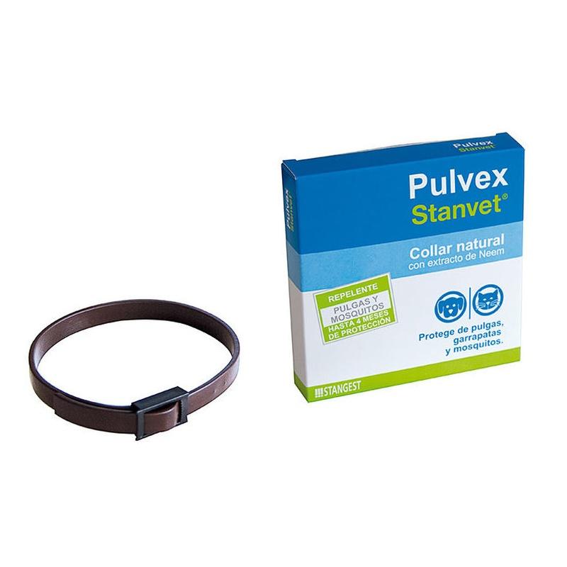 Pulvex collar lavanda y neem