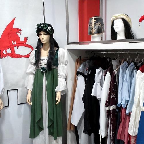 Trajes, disfraces y complementos Medievales
