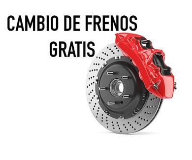 CAMBIA TUS FRENOS GRATIS