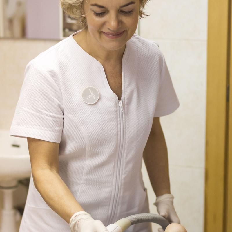 Láser Médico-Estético: TRATAMIENTOS de Bellesa i Benestar María