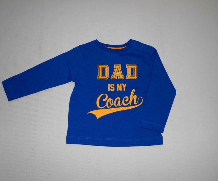 CAMISETA MANGA LARGA DAD IS MY COACH 4.99€