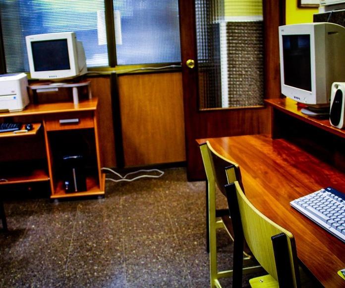 sala ordenadores: SERVICIOS QUE OFRECEMOS de Residencia Universitaria Don Bosco