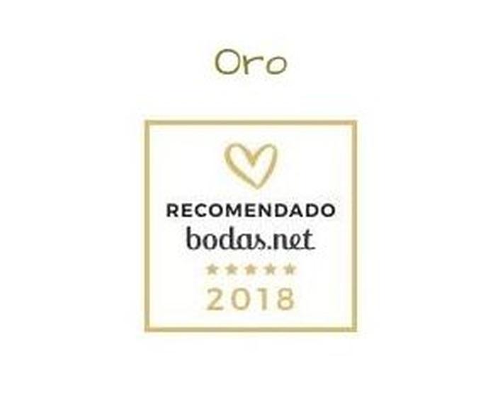 Sello recomendado Bodas.net