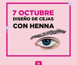 Curso diseño de cejas Henna