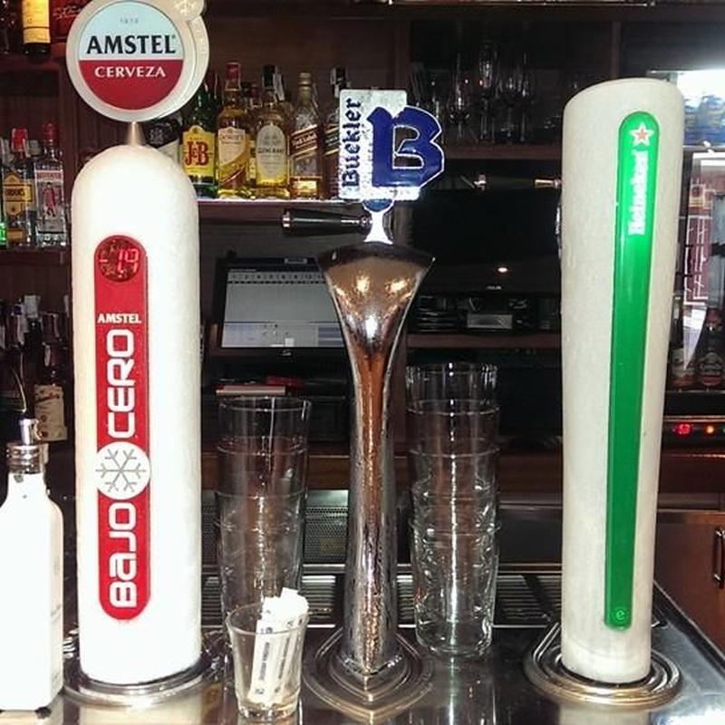 Beers: Our menu de Bar Cervecería Pepe