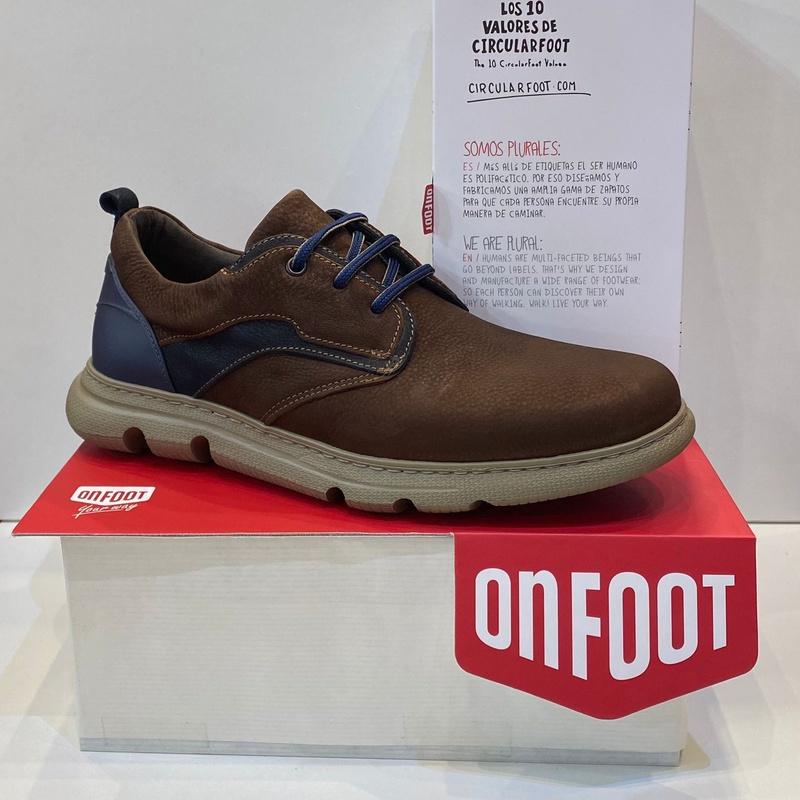 Blucher d'home de la marca On Foot: Catálogo de Calçats Llinàs