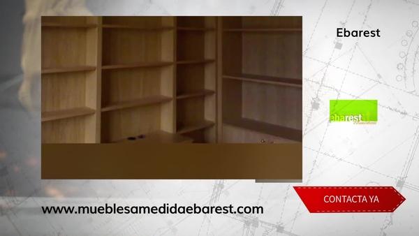 Muebles a medida en Alcobendas, la solución para conseguir el máximo aprovechamiento del espacio.