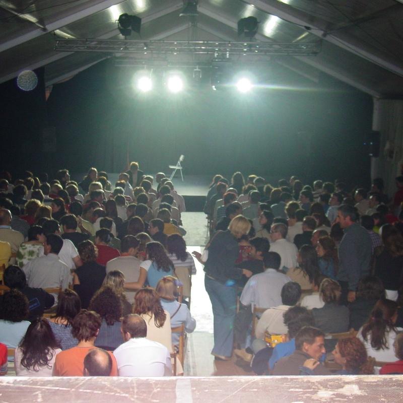 Actuación en Carpa